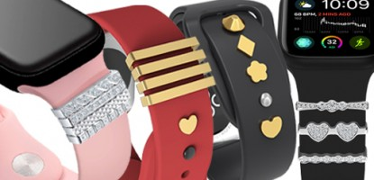 Watch band charms for Apple Watch