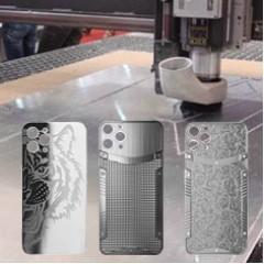polish iphone back cover
