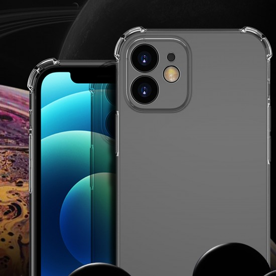 Callancity Duskproof TPU Protector Shockproof Bumper Transparent Clear Phone Case for iPhone 13Mini/13/13Pro/13ProMax