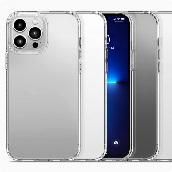 Callancity Clear TPU Protective Case Dustproof Protector Phone Cover for iphone 13mini/13/13pro/13Pro Max