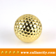 Callancity Luxury High Quality Alloy 24kt Gold Plated Golf Ball