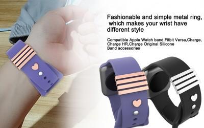 Decorative Ring Band Charms 5pcs/Sets Watch Band Accessories for Watch Band Series 5 4 3 2 1 44mm 42mm 40mm 38mm