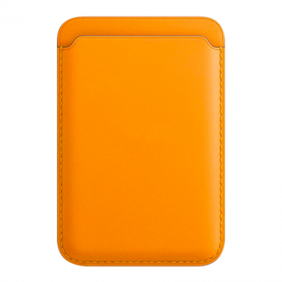 For Iphone 12 Leather Wallet Wireless Charger Card Holder with Magsafe for IPhone 12 pro/pro max