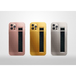 Luxury 24K Gold Plated Custom Housing For iPhone 12 Pro /Pro Max Replacement Battery Cover