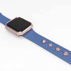 Diamond Case and watch band decorative Compatible with Apple Watch