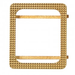 24K Gold Plated Watch Bezel Cover Protective Case for Iwatch 38mm 42mm
