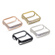 Callancity Gold Plated Face Cover Crystal Case Decoration Bezel Compatible with Apple Watch 38mm 42mm 40mm 44mm for Men/Women