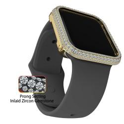 Sparkle Bling Diamond Watch Bezel Case for Apple Watch iWatch Series 3 4 5 6 se 40mm 44mm