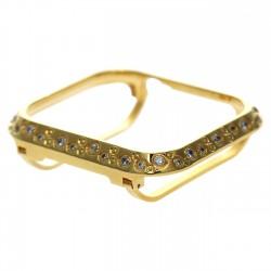 Special Design Crystal Diamond Watch Bezel Case for Apple Watch Series Se/6/5/4 40mm 44mm For Women