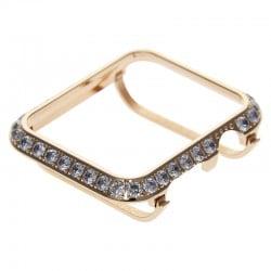 Handwork Crystal Rhinestone 3.0 Diamond Jewelry Bezel Case Cover For Apple Watch Diamonds Bling Case For Apple Watch 40mm 44mm