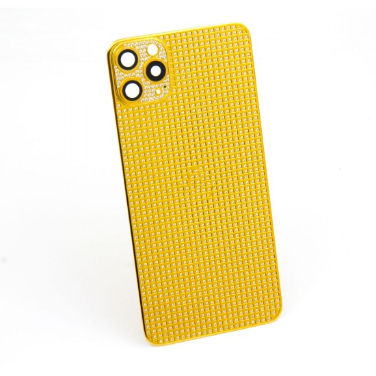 iPhone 12 pro max full crystal diamond housing cover