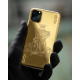 Luxury 24k Gold Protective Cover Case For iPhone 11/ iPhone 11 pro /iPhone 11 Pro Max Customized Design iPhone Golden Case