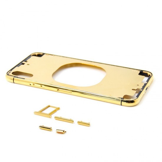 iPhone XS gold middle frame