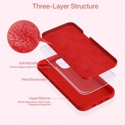 Liquid Silicone Case Gel Rubber Full Protection Shockproof Case