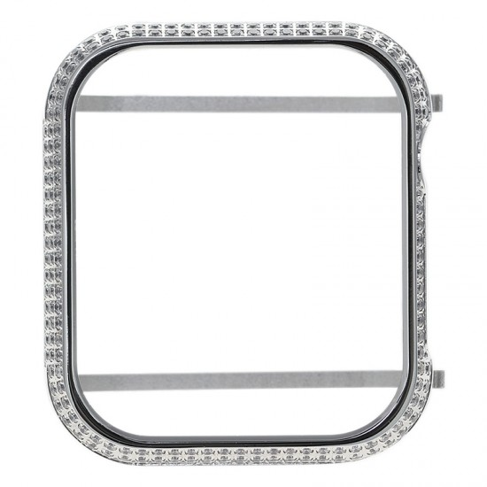 Series 4 Series 5 40mm 44mm Crystal Rhinestone Bezel Cover Bumper Jewelry Accssories Decoration Frame For Apple Watch