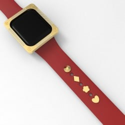 Apple watch GIFT set watch band decoration and apple watch bezel