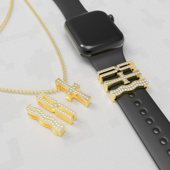 Callancity Trendy Jewelry Nacklace Pendant Fashionable Chain For Girl