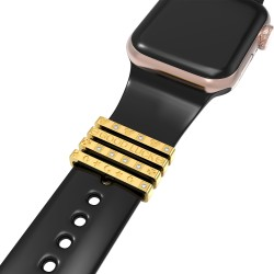 Watch band charms Decorative Rings Loops For Smart Watch Band Series Se/6/5/4/3 (Valentine's Day Gift)