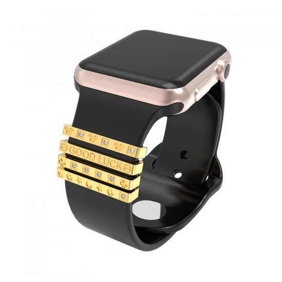 watch case coverwith diamond /iwatch beazel case/ protective case for 38mm42mm/iwatch decorative ring loops for 38mm40mm42mm44mm watch band