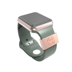 Smart Watch Band Decorative Ring Loops Luxury Silicone Strap Charms for Apple Watch 38mm 40mm 42mm 44mm (Valentine's Day Gift)