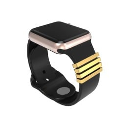 Valentine's Day Gift Decorative Rings Loops Compatible For Apple Watch Band Accessories Smooth Loops For IWatch Strap 38mm 40mm 42mm 44mm